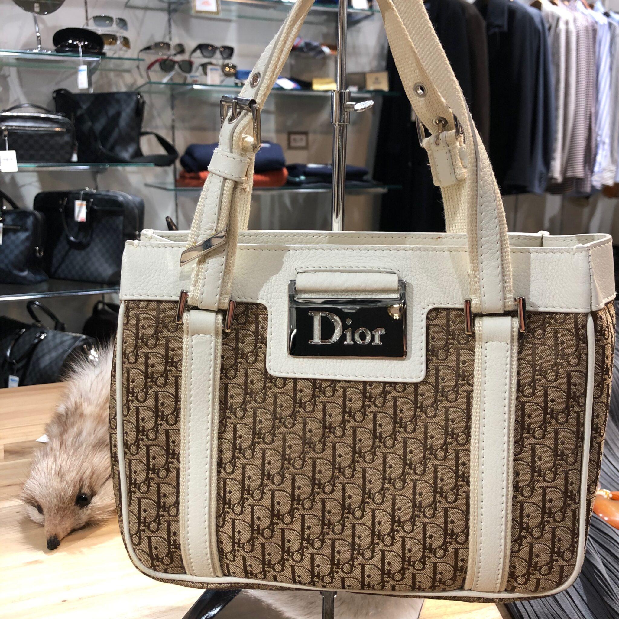 【クリスチャンディオール 買取 盛岡】C'Dior トロッター ミニトートバッグをお買取りさせていただきました!