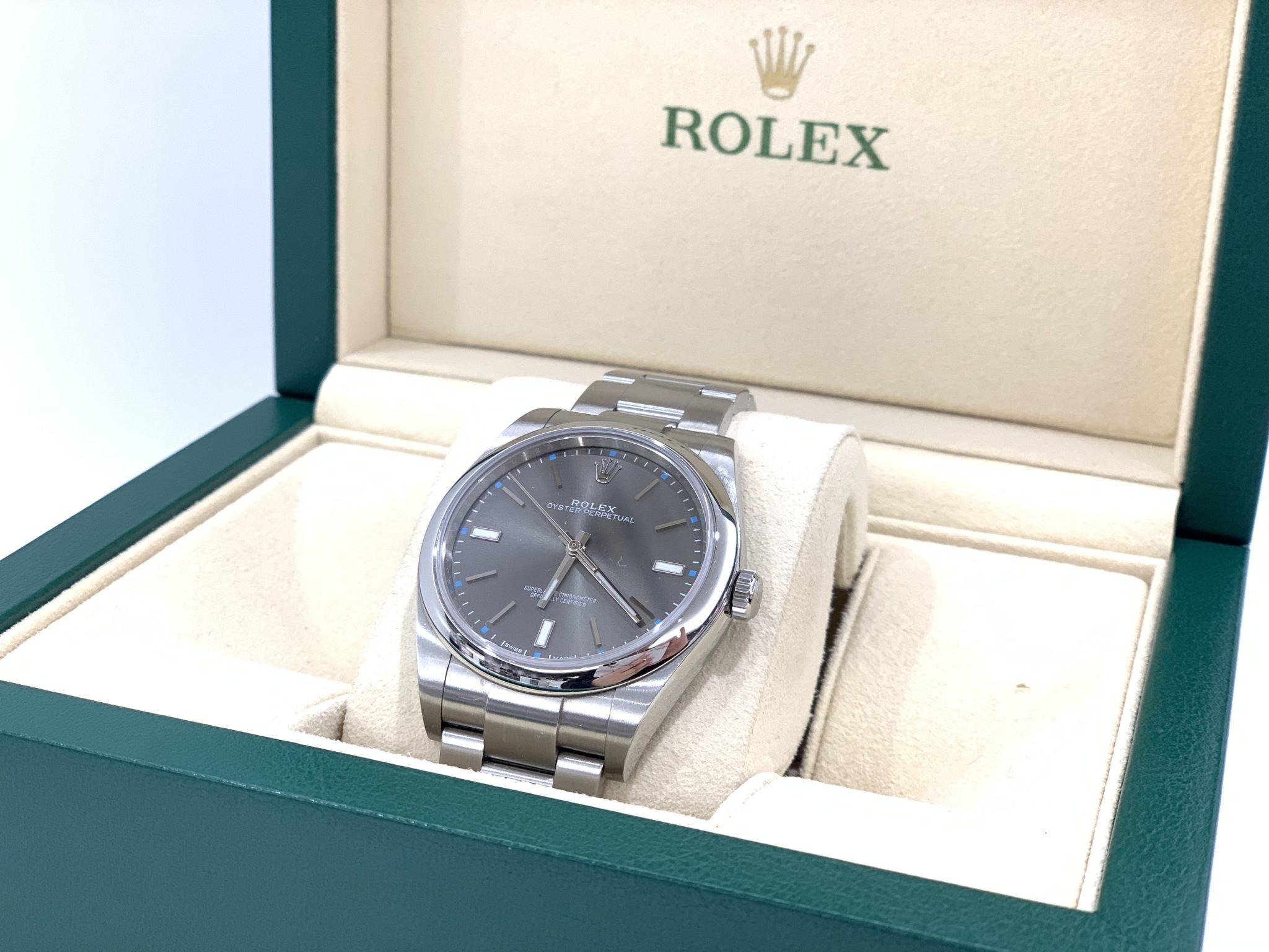 【盛岡 ロレックス 販売】ROLEX  オイスターパーペチュアル39 Ref.114300