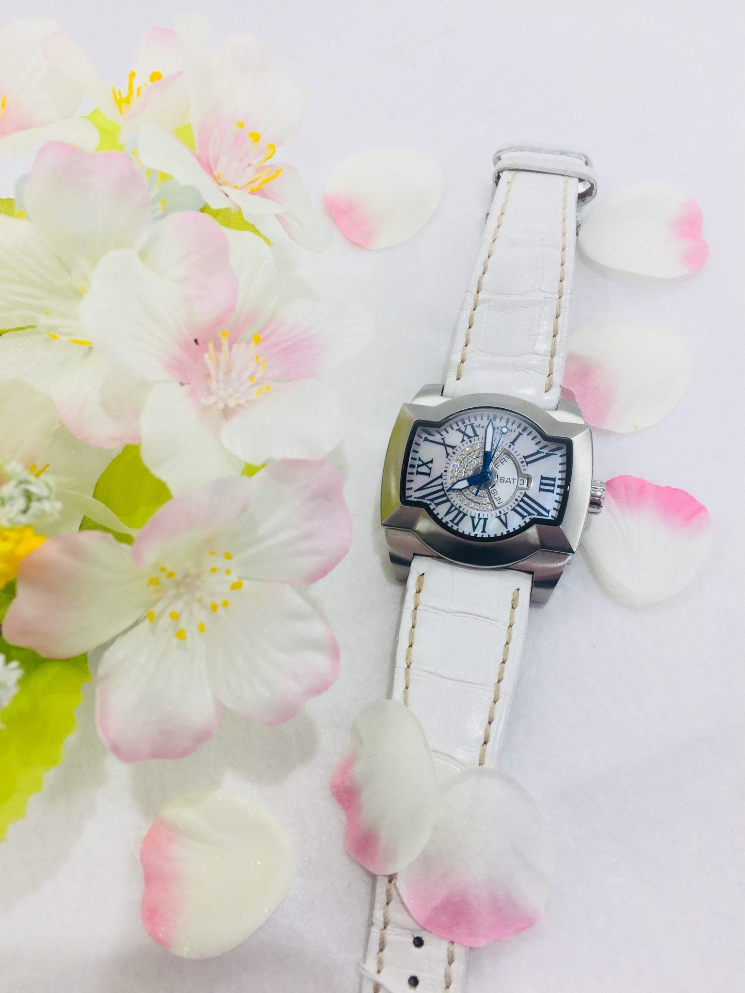 【盛岡 ドゥラクール 販売】de La Cour ドゥラクール SAQRA サクラ 腕時計