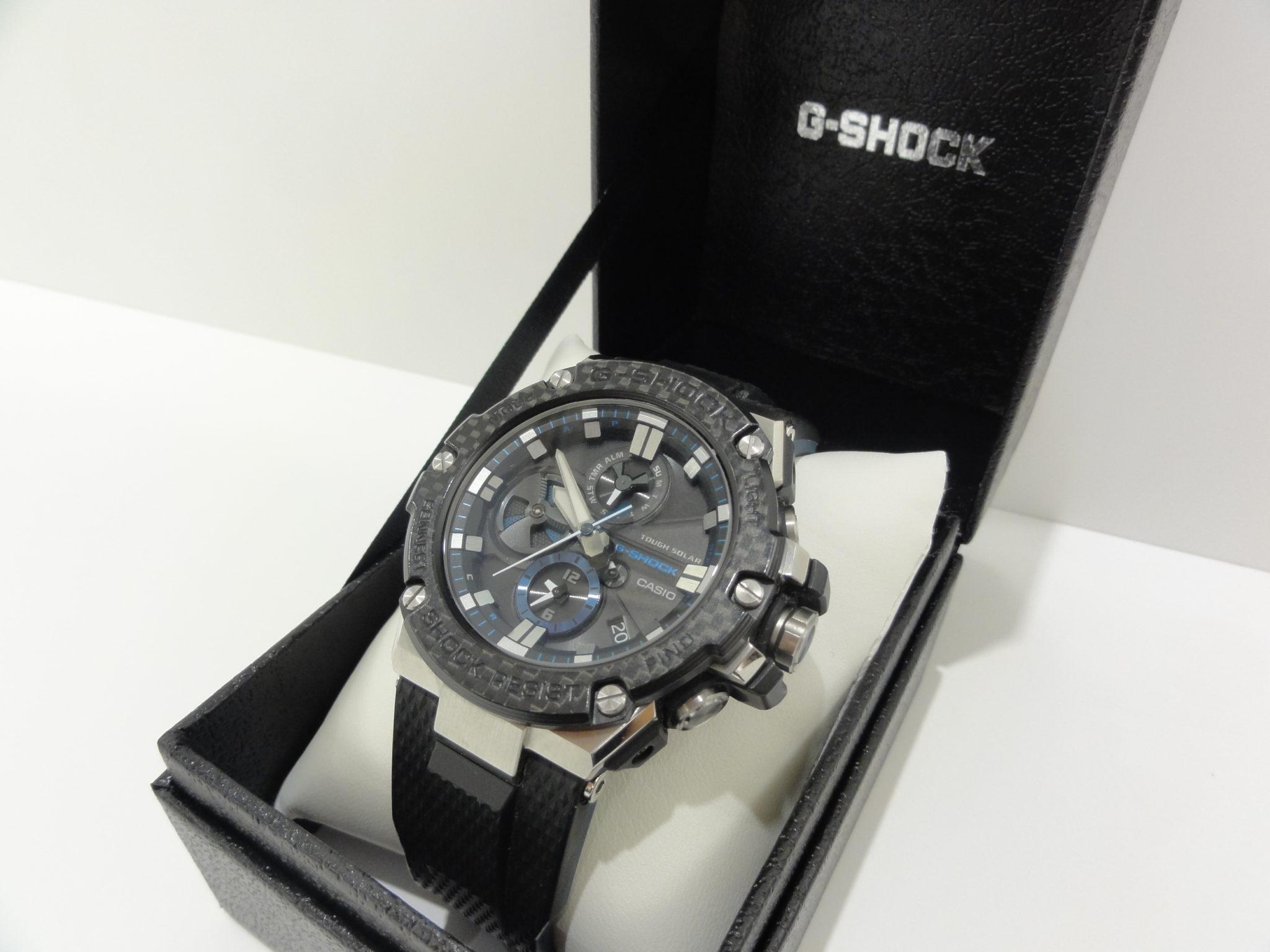 【盛岡 カシオ 販売】G-SHOCK GST-B100XA-1AJF 腕時計