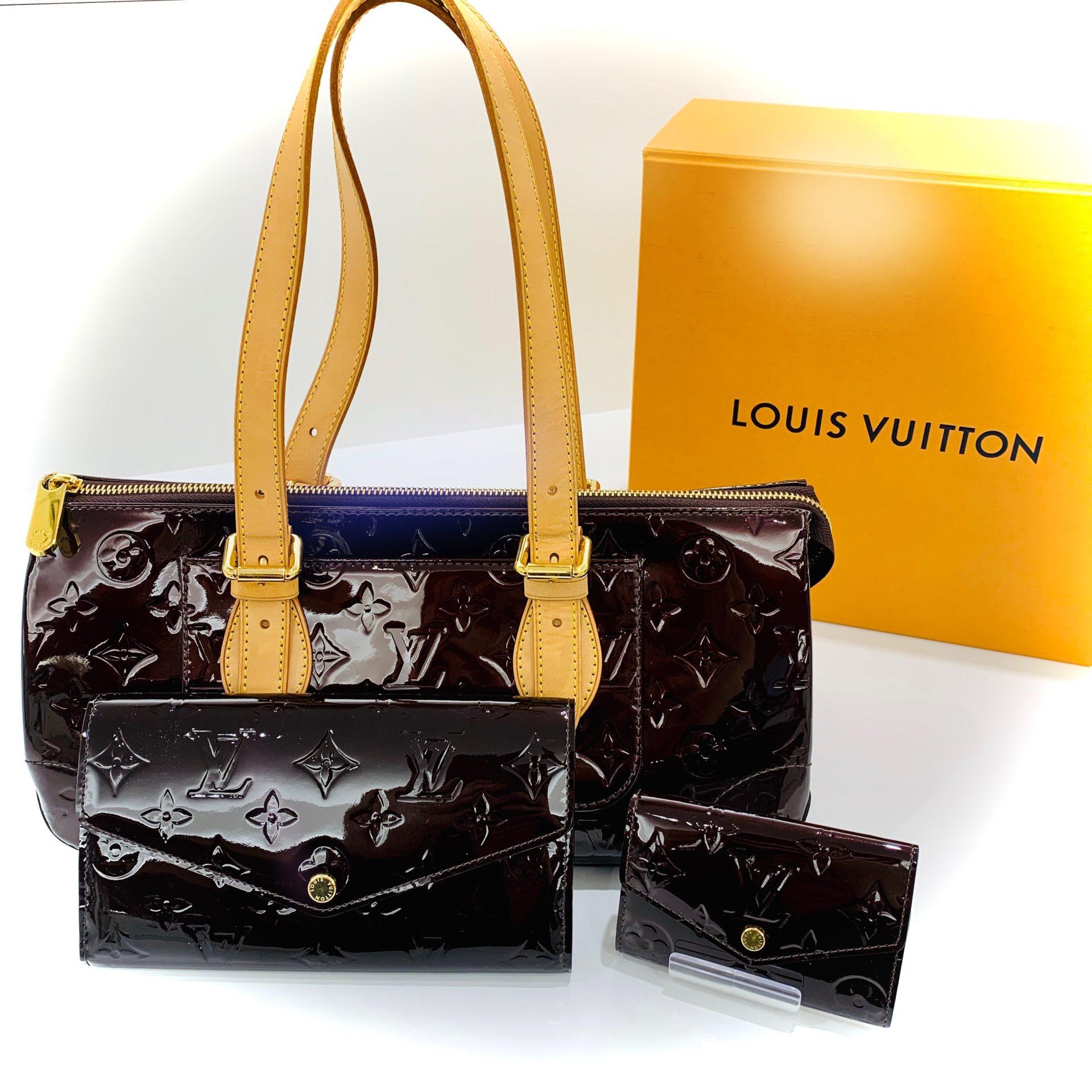 【ヴィトン 販売 盛岡】バッグも小物もヴェルニラインで揃えませんか?