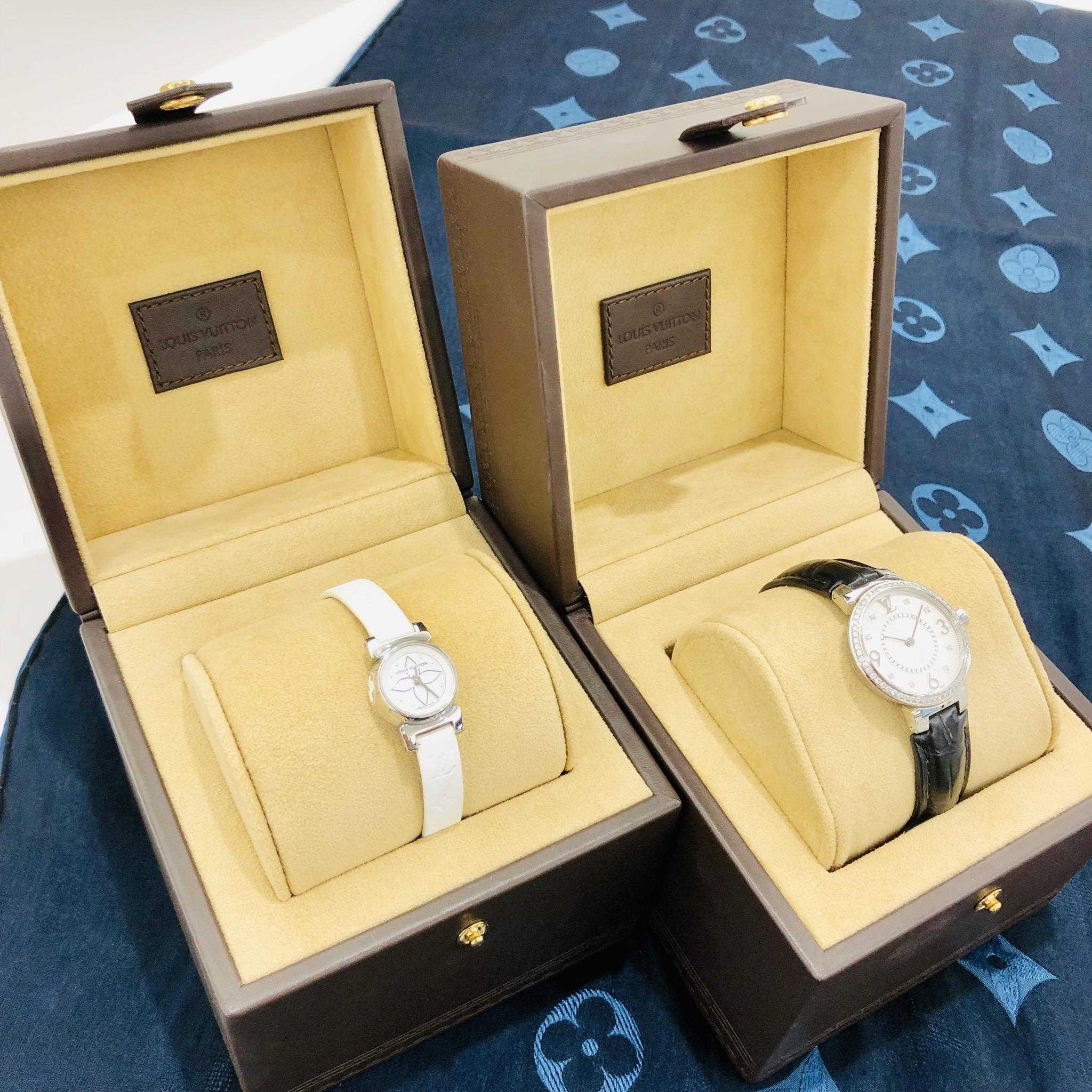 【盛岡 ルイヴィトン 販売】時計 タンブール Q12MF タンブールビジュ Q151C