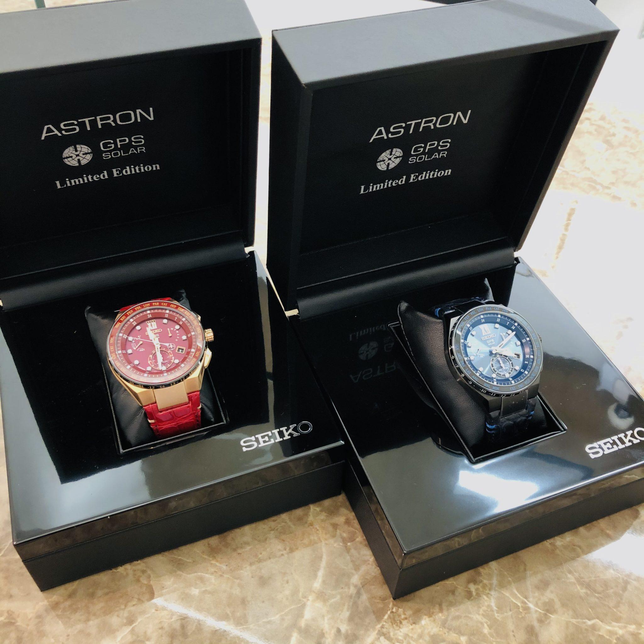 【時計 販売 盛岡】セイコー ラグジュアリティ感溢れる 500本限定 アストロン