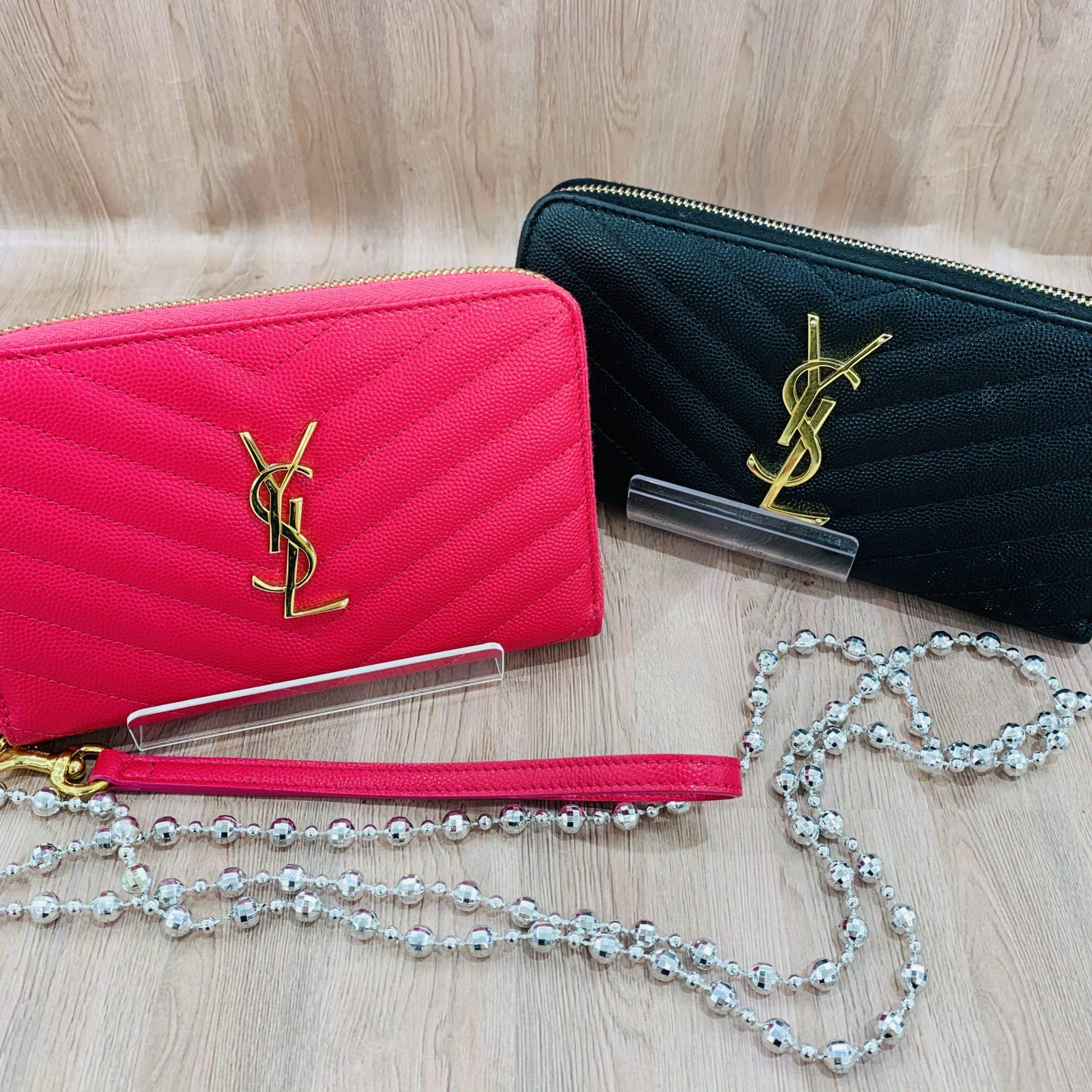 【ブランド 販売 盛岡】オススメのブランド【SAINT LAURENT】のお財布はいかがですか?
