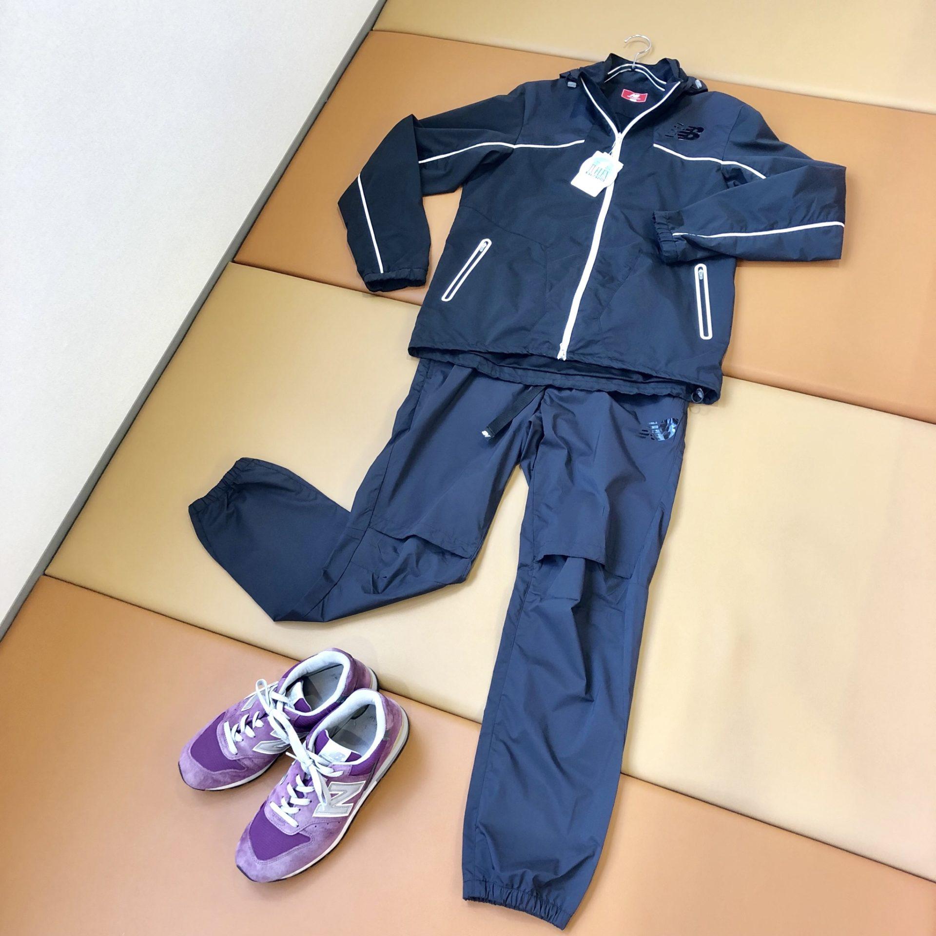 【盛岡 ニューバランス 販売】タフレックス ストレッチフルジップブルゾン&パンツ シューズ M996