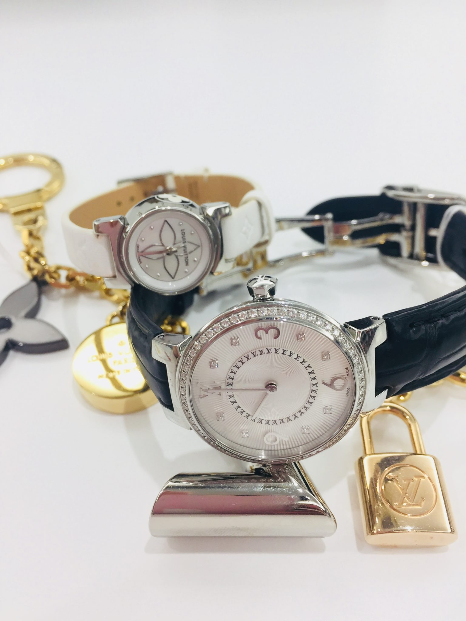 【盛岡 ブランド 販売】LOUIS VUITTON ルイヴィトン タンブール 腕時計
