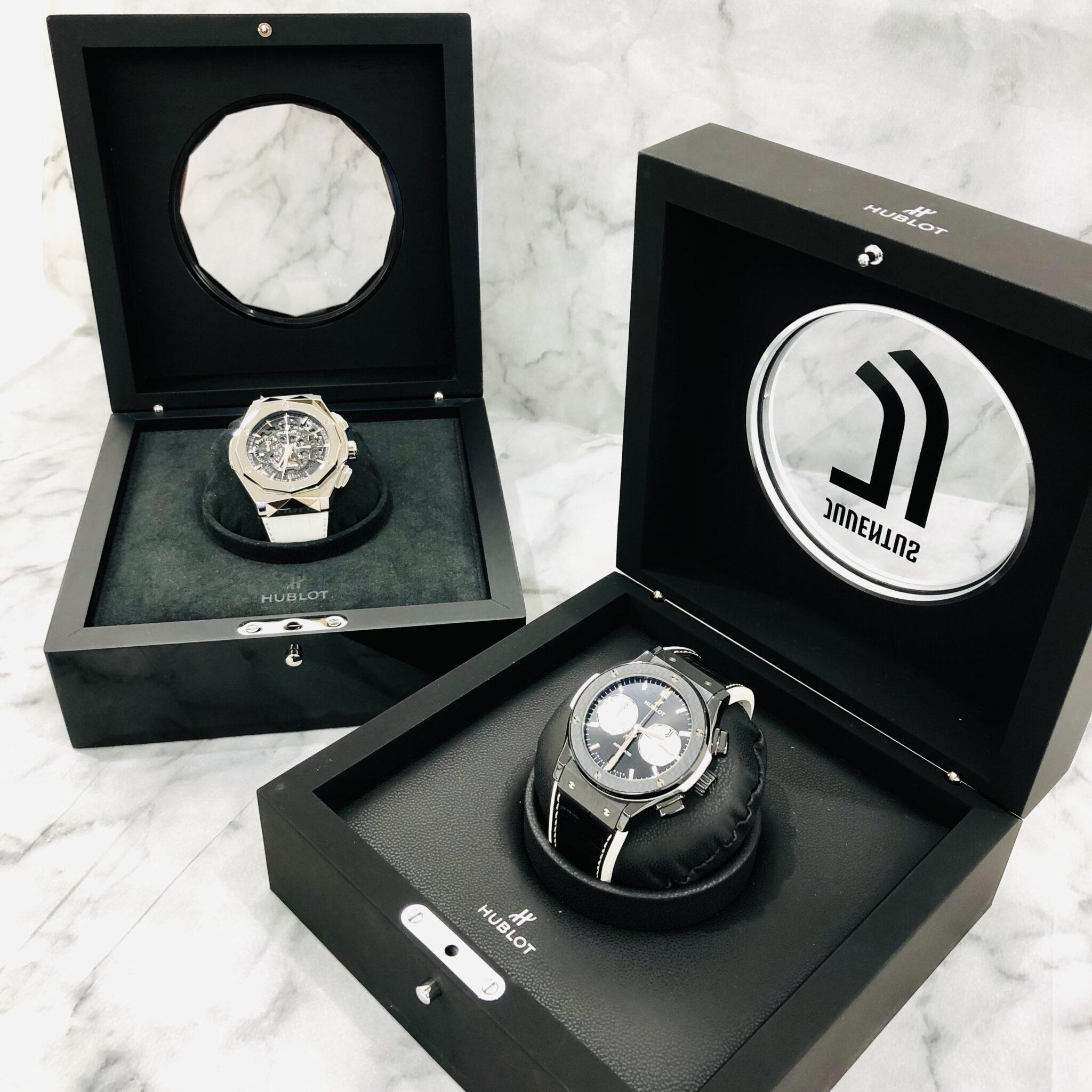 【時計 販売 盛岡】クラシカルで高級感溢れる腕時計『HUBLOT ウブロ』