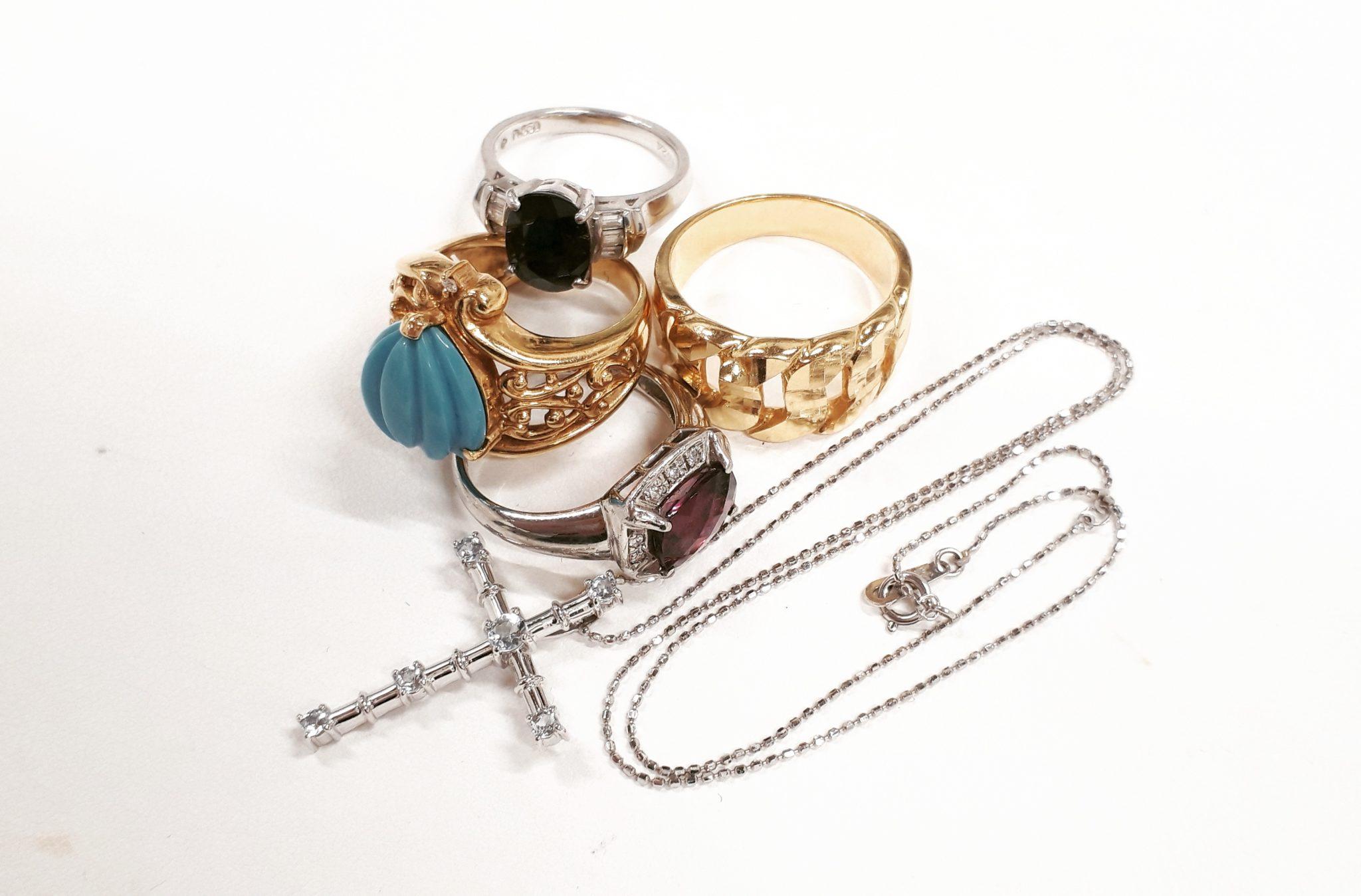 【金プラチナ アクセサリー 指輪 ネックレス】を盛岡市のお客様よりお買取させていただきました!