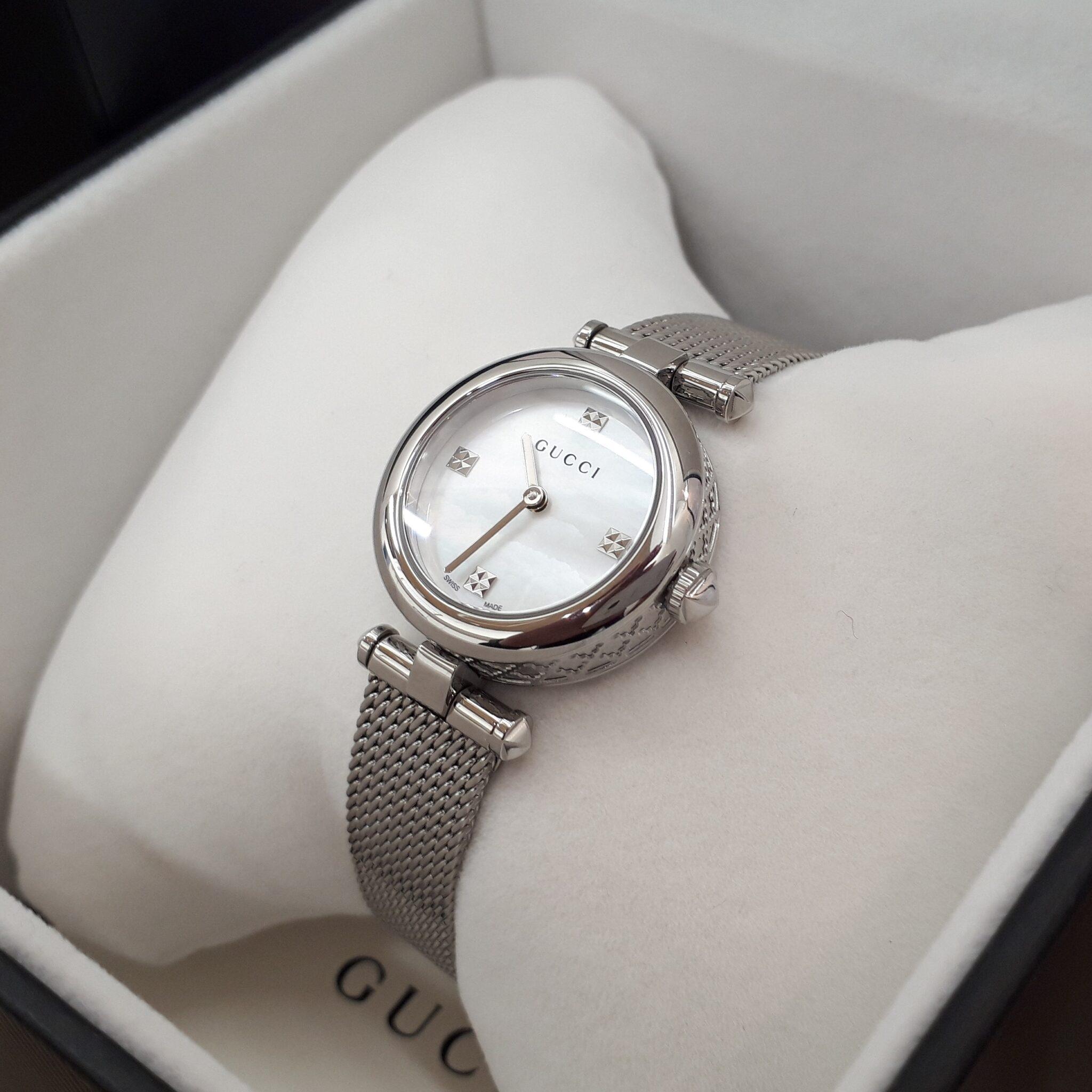 【GUCCI YA141512 ディアマンティッシマ レディース時計】を盛岡市のお客様よりお買取させていただきました!