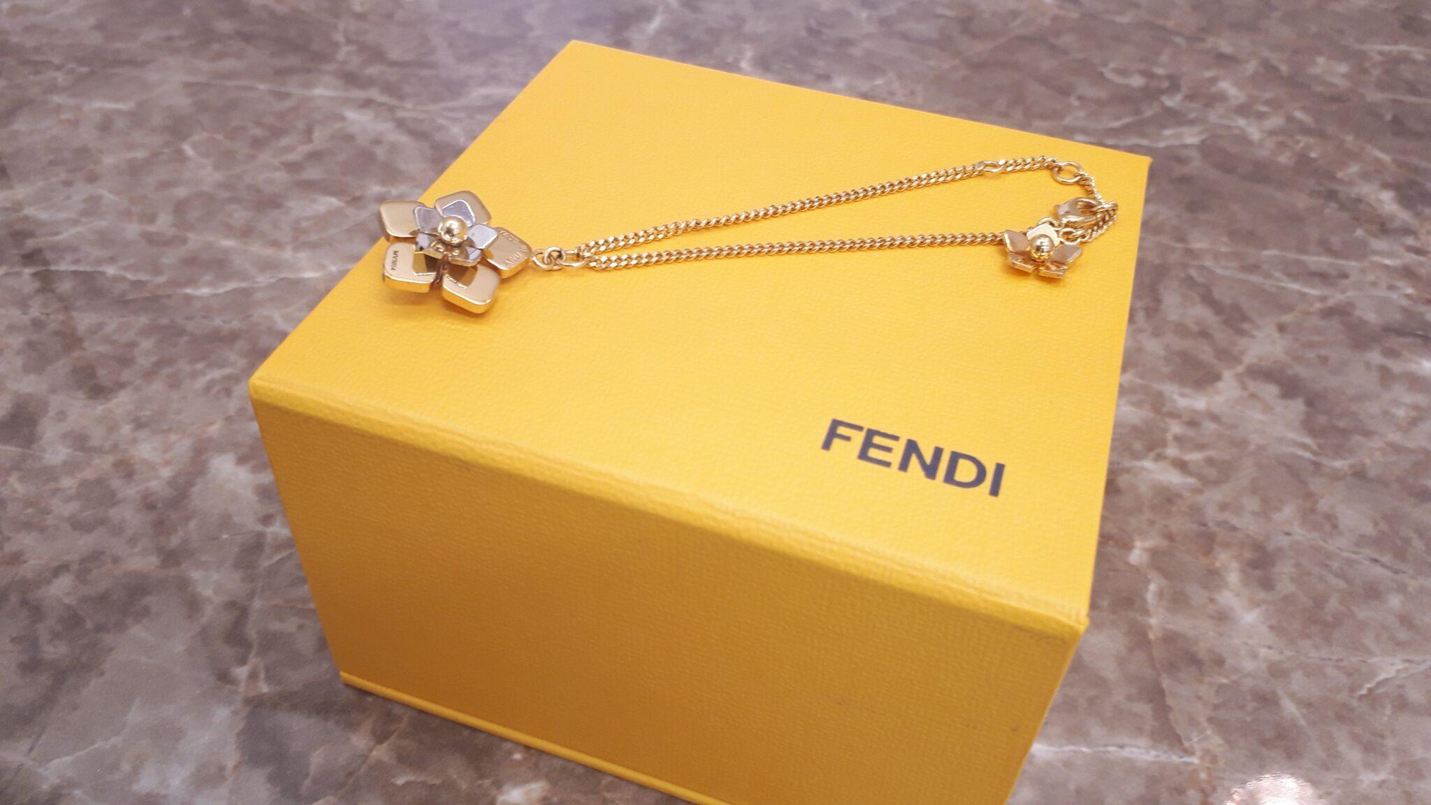 【FENDI フェンディ フラワーブレスレット MV3014】を盛岡市のお客様よりお買取させていただきました!